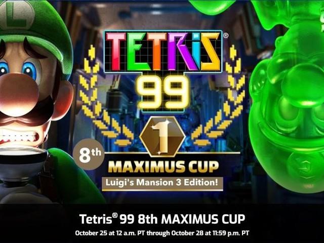 Luigi's Mansion 3 vient se coller à Tetris 99 pour un événement spécial