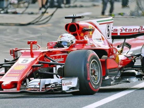 F1 - GP des Etats-Unis - Sebastian Vettel avec un nouveau châssis sur le Grand Prix des États-Unis
