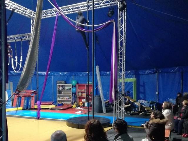 A Héricourt, l'Odyssée du Cirque a la tête dans les étoiles