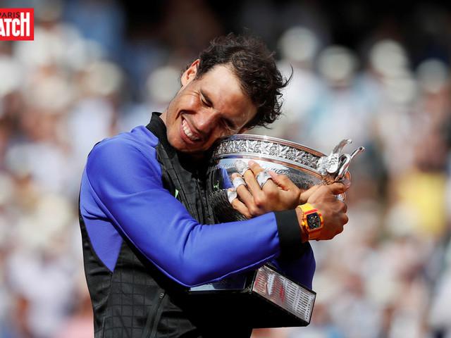 En images : Rafael Nadal, la decima du bonheur