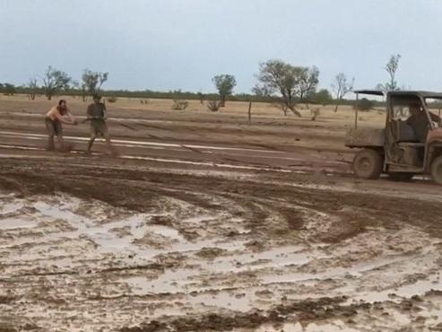 La pluie redonne de l'espoir aux habitants en Australie mais des dizaines d'incendies brûlent toujours