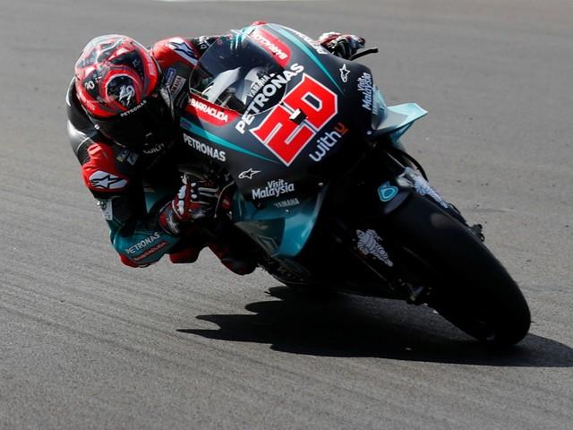 GP Saint-Marin-Libres Moto GP: Quartararo déjà devant