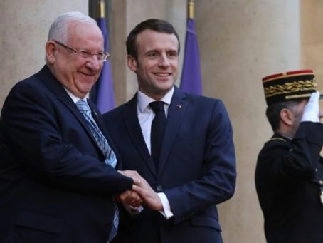 Macron en Israël parlera antisémitisme et Iran