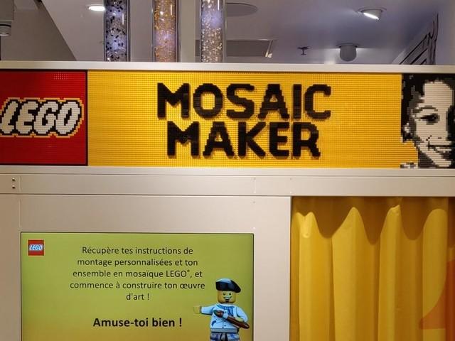 LEGO : On s'est fait tirer le portrait par le photomaton du LEGO Store de Paris