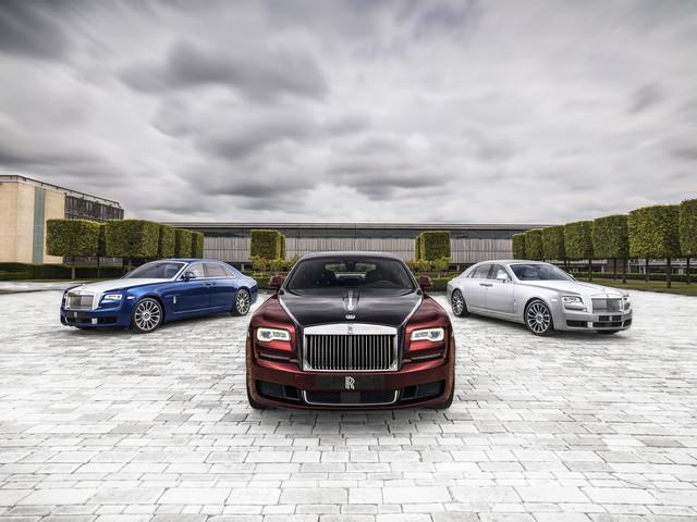Rolls-Royce Cullinan, Ghost, Phantom, Wraith, les photos des modèles uniques créés en 2019