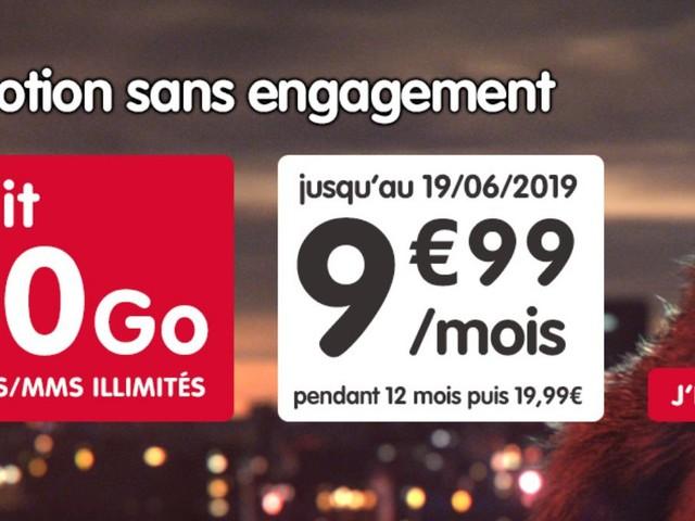Promo forfait : illimité + 100 Go à 9,99 €/mois chez NRJ Mobile (et liste des autres offres en cours)