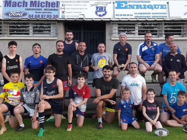 Les Papy's touch en finale territoriale de rugby à 5 !