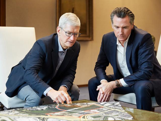 Avec 2,5 milliards, Apple s'engage contre la crise du logement en Californie