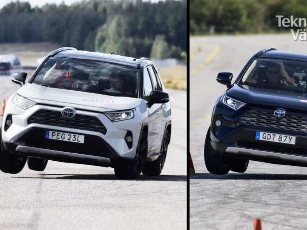 Le Toyota Rav4 rate le test de l'élan