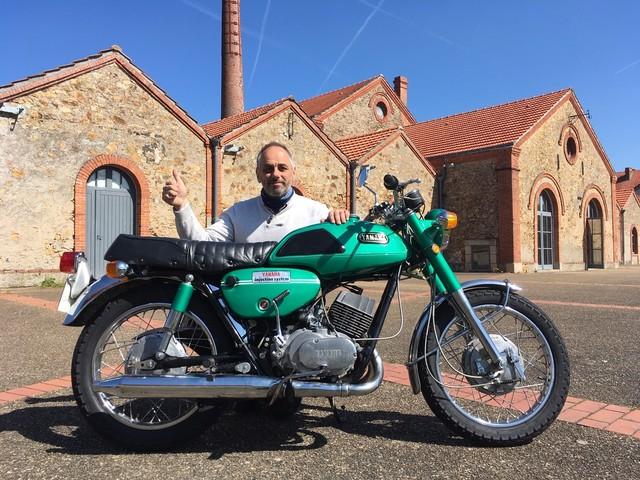 La moto classique de la semaine : Yamaha YR3