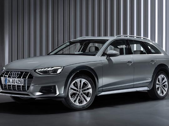La nouvelle Audi A4 Allroad quattro à son aise sur tous les types de terrains