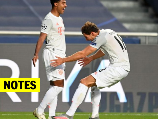 Les notes du Bayern contre le Barça