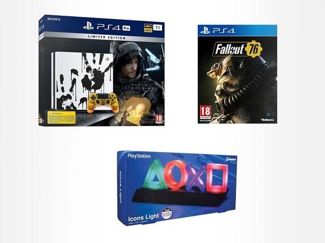 La PS4 Pro édition limitée Death Stranding avec Fallout 76 et lampe USB offerts est à 369.99 €