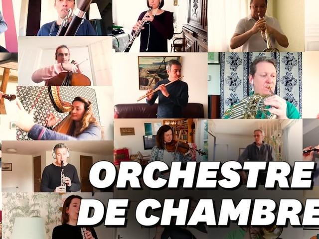 """L'impressionnant """"Boléro"""" confiné de l'Orchestre national de France"""