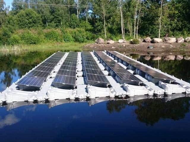 Panneaux solaires flottants, la solution innovante de Fellah Pro