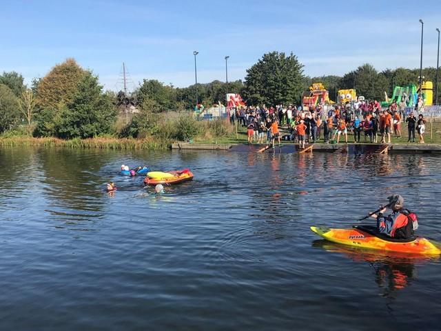 Lacs de l'Eau d'Heure: Spicy 3, un triathlon solidaire pour personnes porteuses d'un handicap