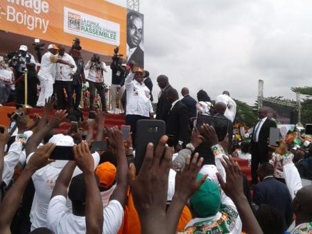 Présidentielle 2020 : « Il n'y aura pas d'exclusion y compris ADO » (Ouattara)