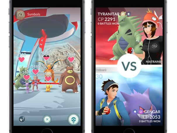 Pokémon Go : le mode Raids au coeur de la mise à jour