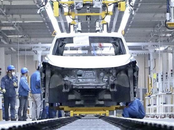 L'usine SAIC Volkswagen d'Anting produit des véhicules basés sur la plateforme MEB