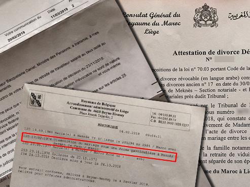 La pension d'un Liégeois de 65 ans fortement amputée: l'administration ne reconnait pas sa séparation par RÉPUDIATION il y a 41 ans