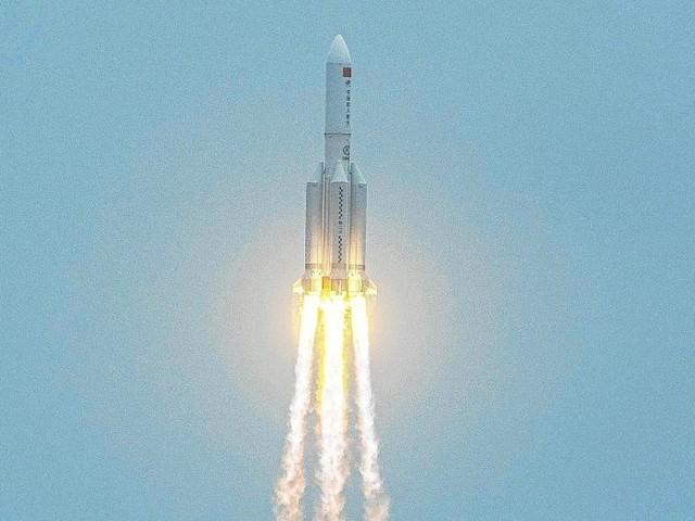 Fusée hors de contrôle: risque sur Terre «extrêmement faible» selon la Chine