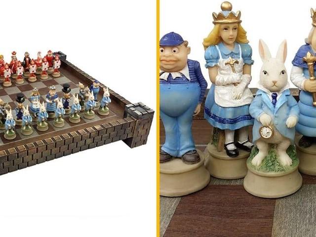 [TOPITRUC] Un jeu d'échecs Alice au Pays des Merveilles