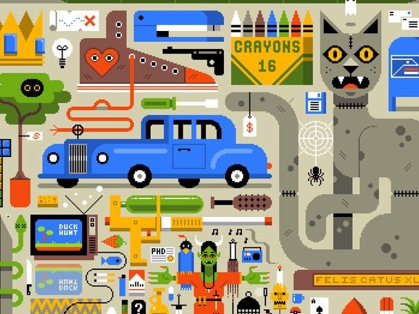 The Moving Illustration World Of Nicholas Little