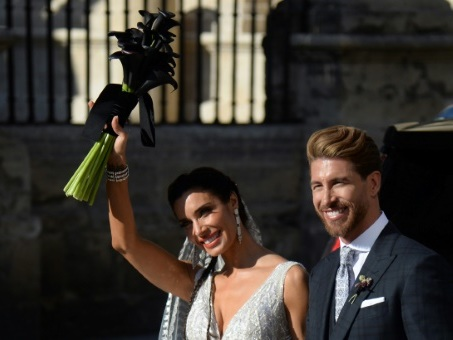 "Un mariage ""galactique"" pour Sergio Ramos et Pilar Rubio à Séville"