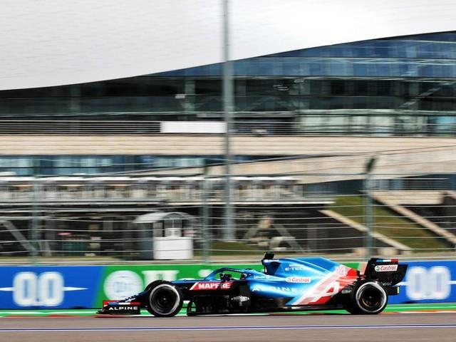 Résultats des essais libres 2 du GP de Russie de F1