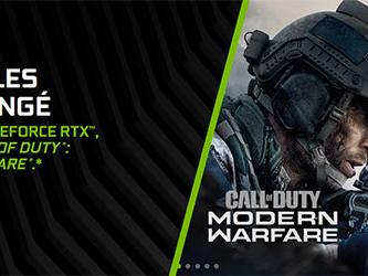 Nouveau bundle : NVIDIA offre Call of Duty Modern Warfare avec ses GeForce RTX