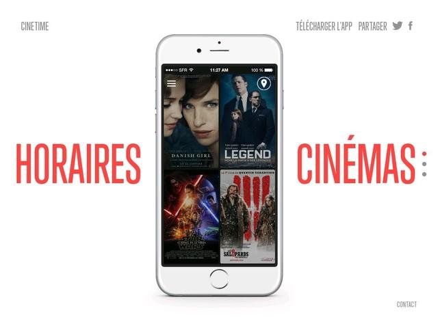 Cinetime – L'application rencontre entre cinéphiles !