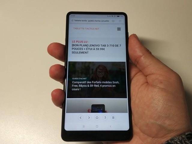 Xiaomi Mi Mix 2 : notre test du smartphone borderless à moins de 500€