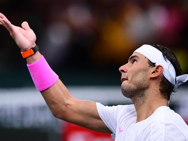 Tennis : Rafael Nadal déclare forfait avant sa demi-finale au Masters 1000 de Paris contre Denis Shapovalov
