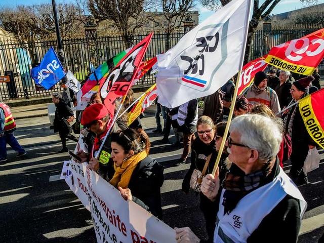 Grève du 24 janvier en Gironde : suivez la journée en direct