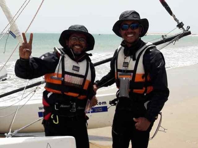 Tour du Maroc à la voile: les deux skippers bouclent leur défi en 24 jours