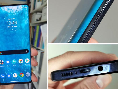 Les tests de Mathieu : l'écran de ce smartphone est tellement recourbé qu'il fait office... de bordure