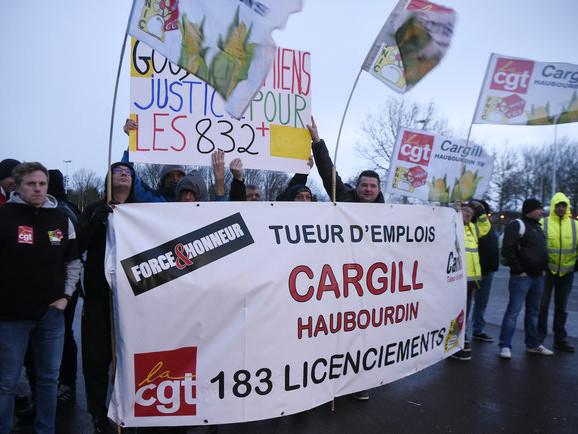 Les salariés menacés de Cargill veulent apprendre des ex-Goodyear
