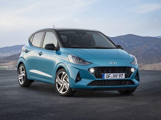 La Hyundai i10 affiche une allure plus dynamique