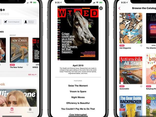 Apple News+ : Apple va commencer à facturer l'abonnement aux premiers clients