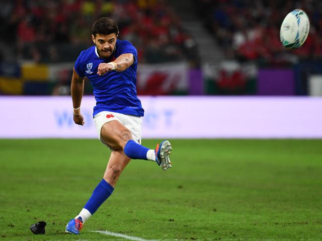 Mondial de rugby: Ntamack nommé pour le prix de révélation de l'année