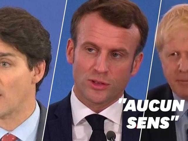 Macron, Johnson et Trudeau s'expliquent après leur moquerie supposées sur Trump