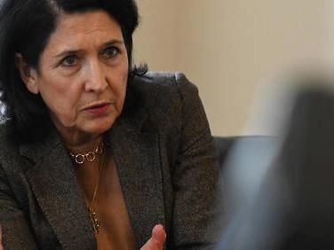 Salomé Zourabichvili: «Je veux que la Géorgie intègre l'Union européenne»