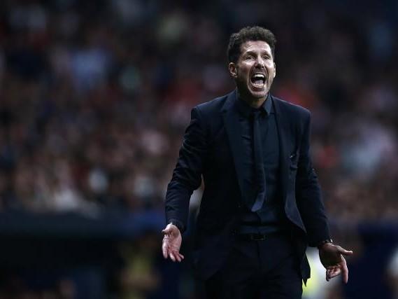 Foot - ESP - Atlético - Diego Simeone (Atlético de Madrid) : « L'équipe s'est toujours bien battue »