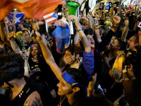 Le gouverneur de Porto Rico démissionne après deux semaines de manifestations