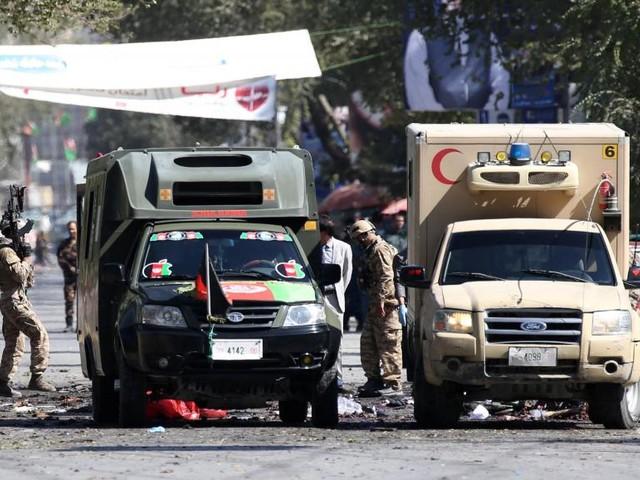 Afghanistan: attentat près d'un meeting électoral du président Ghani