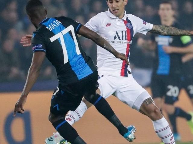 Ligue des champions.FC Bruges - PSG (0-3, 2e période)