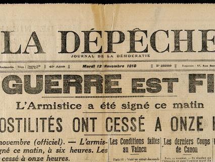 [11/11] Il y a 99 ans, l'armistice…