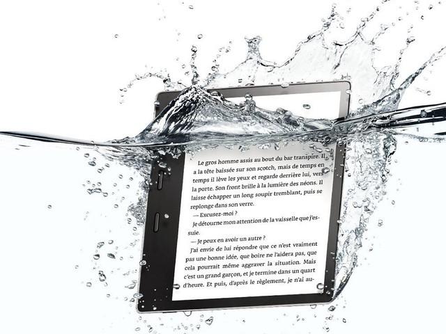 Kindle Oasis : enfin une liseuse de qualité résistante à l'eau