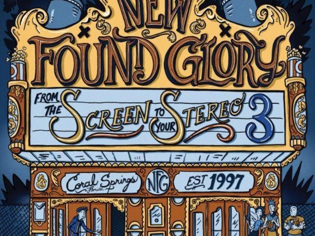 Chronique Express : New Found Glory - From The Screen To Your Stereo 3 (EP)