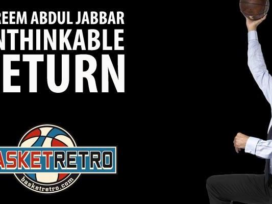 Le comeback envisagé en NBA de Kareem Abdul Jabbar à 44 ans!